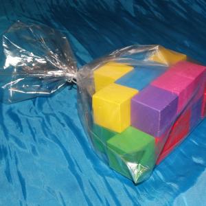 Полипропиленовые пакеты для упаковки кубиков