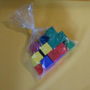 Пакеты для упаковки кубиков