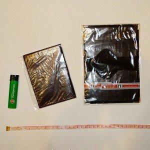 Пакеты со скотчем для паспорта