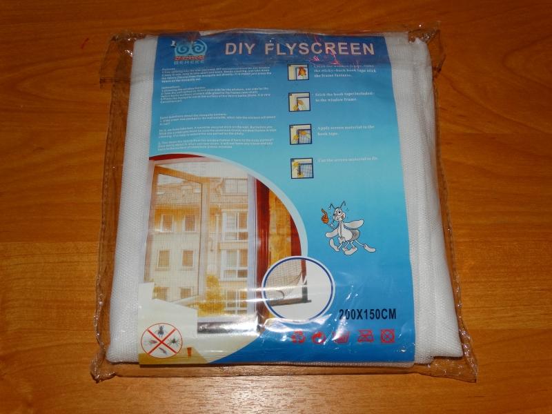 Упаковка для маскитных сеток