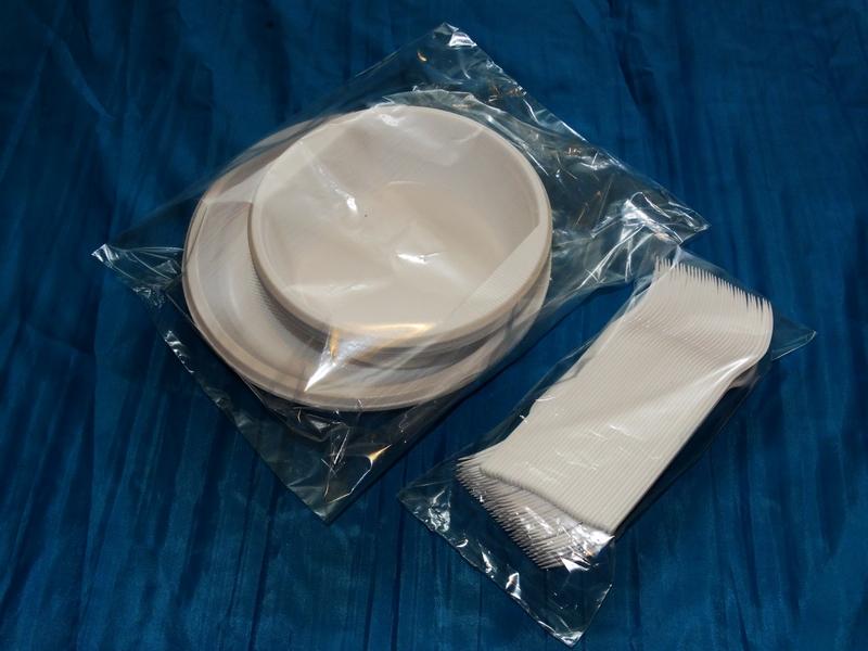 Пакеты для тарелок и приборов