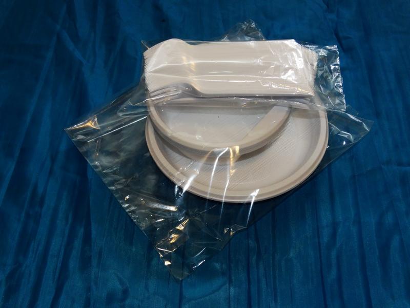 Пакеты для пластиковой посуды