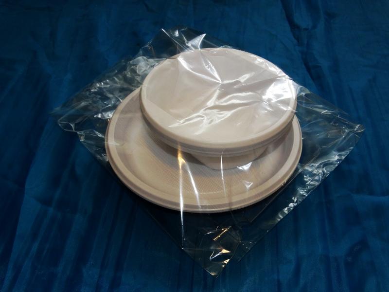 Полипропиленовые пакеты для посуды