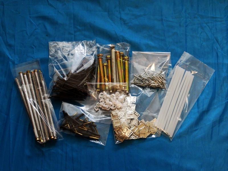 Полипропиленовые пакеты для крепежей